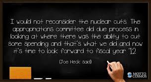 joe heck said quotes motto cosmos