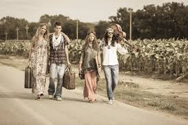 the history of hippie fashion in the