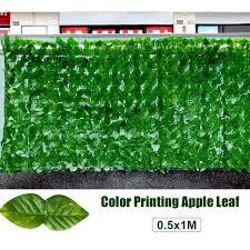 Artificial Fence 5x10ft Artificial Ivy Privacy Fence Screen Leaf Vine Decoration Panel With Gsm Mesh Back Walmart Com Walmart Com