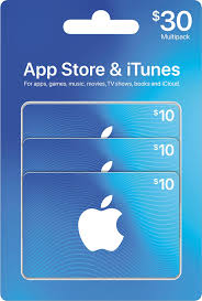 apple 30 app itunes gift cards