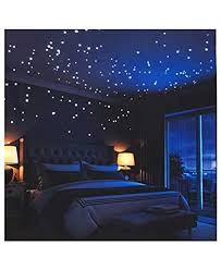 Glow In The Dark Wall Stickers Buery 407 Pcs Removable Glow In Dark Dots Wall Decals Stickers Room Decor Kit Adhesive Dots Luminous Ceiling Decals For Kids Bedroom Halloween Home Decoration