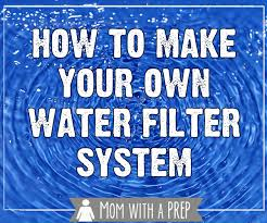 gravity fed water filter system