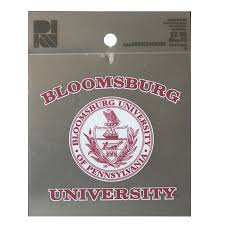 Auto Decals Magnets Bloomsburg University Store