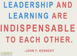 "quotes about wisdom ""leadership and learning are indispensable"