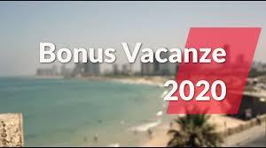 BONUS VACANZE 2020: COME FUNZIONA - YouTube