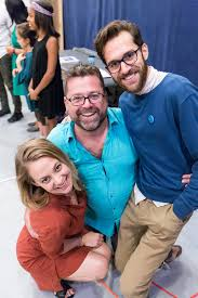 Jenni Barber, Peter DuBois and Adam Chanler-Berat at the m… | Flickr