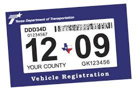 Txdot Introduces New Registration Sticker North Texas E News