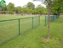 8ft Green Vinyl Coated Wire Mesh Fencing Sport Chain Wire Fence For Sale Chain Link Fence Manufacturer From China 108128615