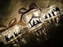 Nativity Scene Vinyl Sticker Decal For Glass Blocks Christmas Decoration Ebay