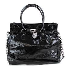 michael kors black patent leather