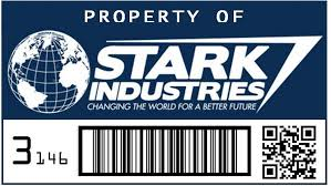 Stark Industries Property Color Vinyl Decal Collector S Heaven