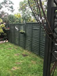 Ronseal One Coat Fence Life Forest Green Matt Fence Shed Wood Treatment 12l Departments Diy At B Q
