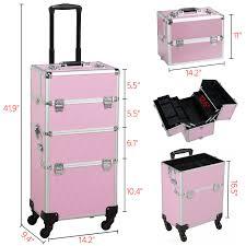 makeup beauty case trolley cosmetics