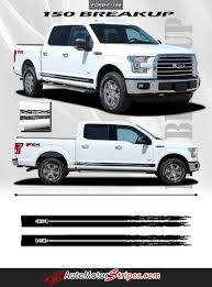 2015 2016 Ford F 150 Breakup Rocker Lower Rocker Stripes Vinyl Decal Graphics Ford F150 Vinyl Graphics Car Vinyl Graphics