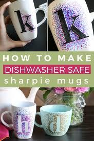 easy dotted sharpie mugs kaleidoscope