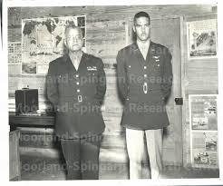 Brigadier General Benjamin O. Davis, Sr.; Lt. Col. Benjamin O ...