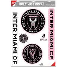 Inter Miami Cf Car Accessories Inter Miami Auto Truck Decals Mats License Plates Mlsstore Com