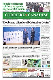 Corriere Canadese (23-01-19) Pages 1 - 16 - Text Version
