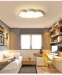Creative Acrylic Cloud Led Ceiling Lamp Kids Bedroom Kindergarten Pendant Light Home Garden Chandeliers Ceiling Fixtures