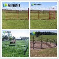 Hot Sale Welded Shs Cattle Fence Panels Lowes For Cows View Welded Cattle Fence Panels Lowes Fansi Product Details From Anping Fansi Metal Wire Mesh Factory On Alibaba Com