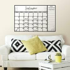 Scroll Dry Erase Calendar Giant Wall Decal Roommates Decor