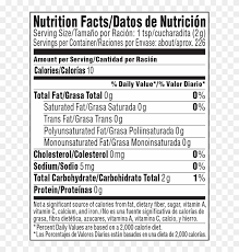 nestle coffee mate nutrition facts