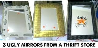 how to paint a mirror frame antaeus me