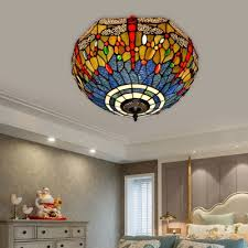 tiffany dragonfly ceiling light fixture