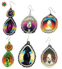 seed bead earrings fashion jewelry