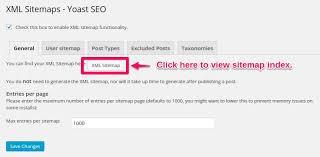 fix yoast seo sitemap not found