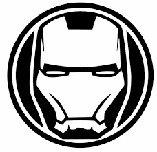 Iron Man Vinyl Decal Marvel Avengers Comic Superhero Sticker Car Oracal Shield Home Garden Home Decor Superhero Stickers Avengers Decals Superhero Comic