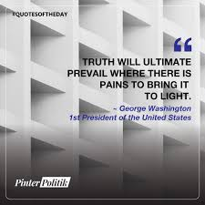 quote of the day george washington