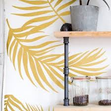 Palm Fronds Wall Decals Urbanwalls