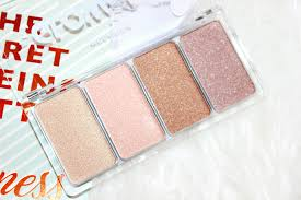 glow to go highlighter palette review