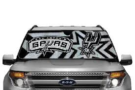 Auto Sun Shade Nba San Antonio Spurs For Front Window