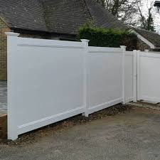 Cascade 8 Ft W X 6 Ft H White Vinyl Privacy Fence Simple Fencing Simplefencing Co Uk