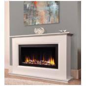 vegas arch electric fireplace suite