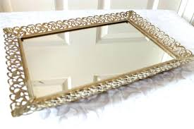 small mirrored perfume tray bu club