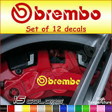 Set Of 2x 90mm And 2x 75mm Brembo Brake Caliper Decals Stickers High Temp Archives Statelegals Staradvertiser Com