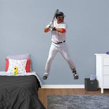 Fathead J D Martinez Boston Red Sox Life Size Removable Wall Decal
