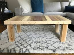 rustic or coffee tables in
