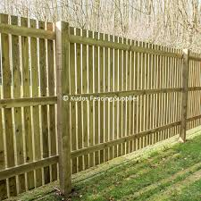 Timber Palisade Fence Kit Kudos Fencing Supplies Uk Delivery