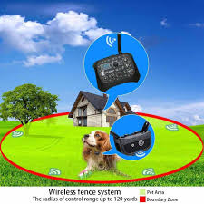 Wireless Electric Dog Fence Containment System With Adjustable Waterproof Training Collar Stable Signal For Indoor Outdoor Rechargeable Karotezh Invisible Fence For Dogs Collars