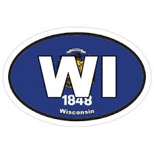 Wisconsin Car Stickers And Decals