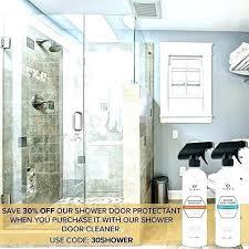 water repellent for glass shower doors
