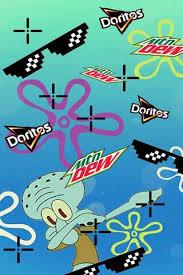 mlg squidward dab wallpaper