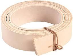 wuta veg tanned leather handmade belt