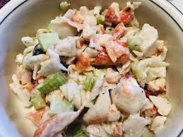 Crab and Lobster Salad