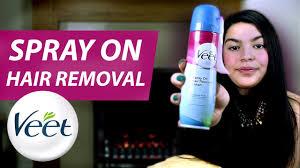 veet spray on hair removal cream