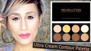 makeup revolution contour palette cream